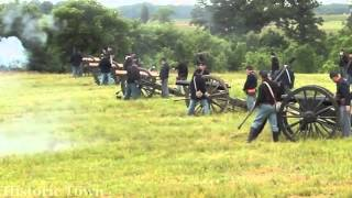 Civil War Artillery (Cannon Fire) Historic Town