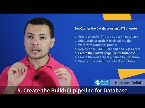 CI For Database Project In Azure DevOps