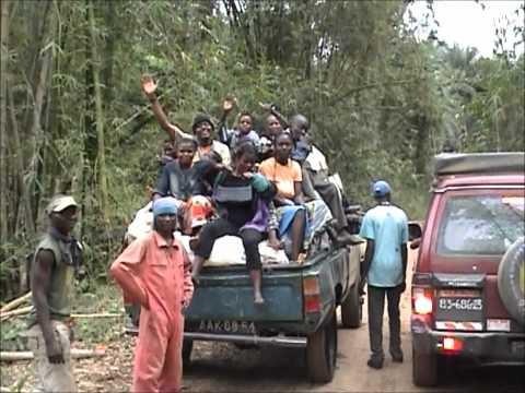 Road Scouting Cabinda