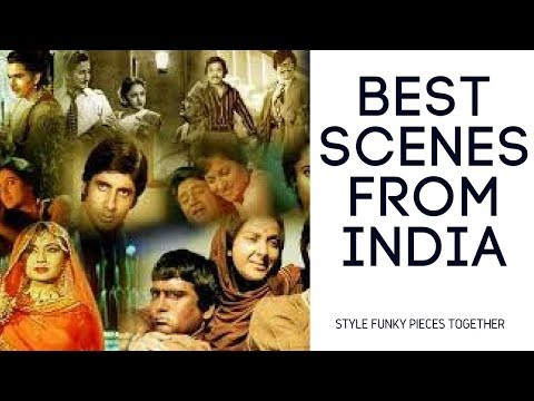 Best moments of Indian Cinema!Great acting in Bollywood compilation