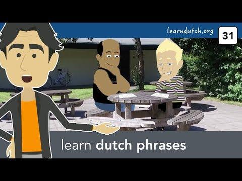 Dutch grammar applied: verb +