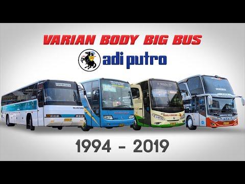 BUS ADIPUTRO 1994 - 2019   Neoplan Sampai Jetbus 3