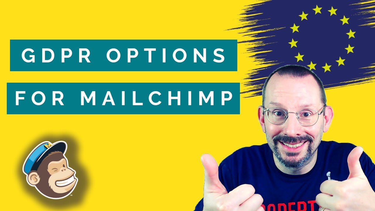 How To Add Gdpr Options To A Mailchimp Sign Up Form Youtube