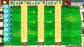 Plants vs Zombies Hack Snow Peashooter vs Torchwood vs All Zombie