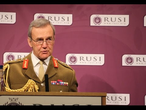General Sir Nicholas Houghton: RUSI Chief of the Defence Staff Annual Lecture