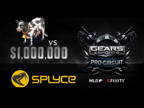 Ess MooMooMiLK Moments vs SPLYCE Latin America Team Gears of War 4