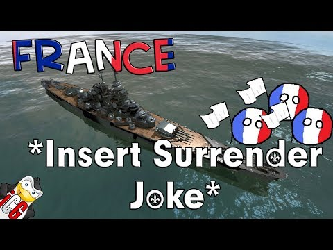 World of Warships - France Datamine - *Insert Surrender Joke*