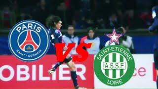 Paris Saint Germain vs Saint Etienne 1-0 (France - League Cup)