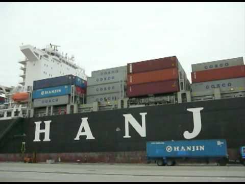 Boarding- MV Hanjin Madrid