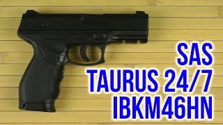 Розпакування SAS Taurus 24/7 IBKM46HN