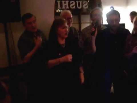 """That'll Be The Day"" Karaoke, Hughes Winnell Cuozzo Davies Family Jan 2009"