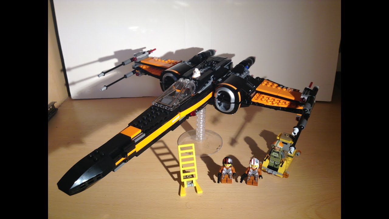 Lego star wars poe s x wing fighter review 75102 youtube - Lego Star Wars Poe S X Wing Fighter Pr Sentation Fran Ais Set 75102 Youtube
