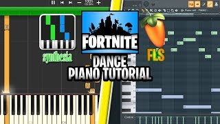 Fortnite Dance Piano Roll Fruity Loops Studio and Synthesia Tutorials