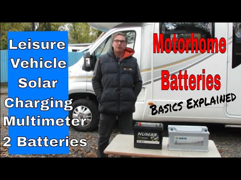 Leisure Battery -Motorhome Batteries Leisure And Vehicle (Solar Basics)