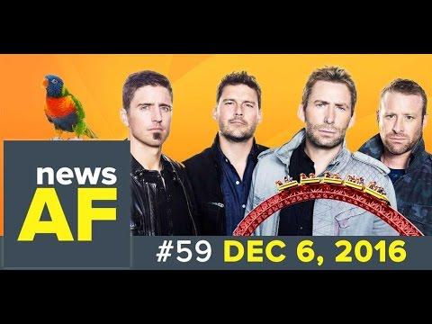 Nickelback for Drunk Drivers is News AF - 12/06/16