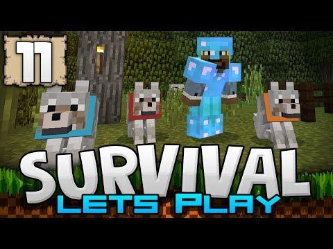 THE THREE AMIGOS!!! - Survival Let's Play Ep. 11 - Minecraft 1.2 (PE W10 XB1)