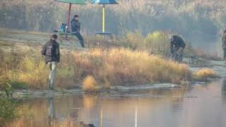 Влог 20 октября. 2018. часть 1. Прогулка по пляжу. Осенняя рыбалка.