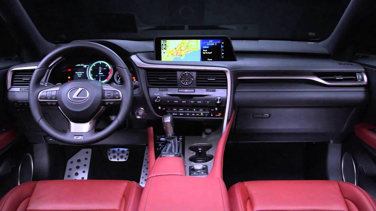 "Lexus Suv Rx 350 >> レクサス 新型RX300 ""F SPORT""を公開 - YouTube"