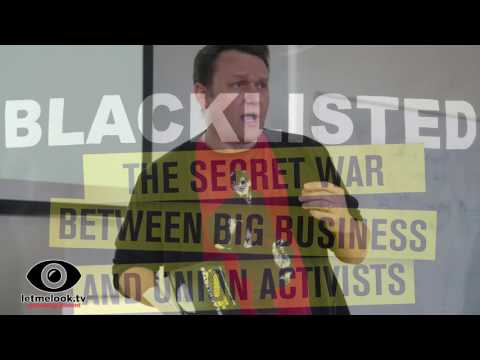 Blacklisted Dave Smith & Phil Chamberlain  at the London Radical Bookfair 7May2016 Goldsmiths