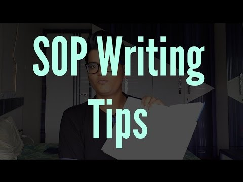 "How to writing an amazing Statement of Purpose(SOP) Essay - ""Higher Education in US"""