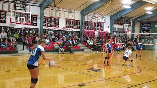 Inter-Lakes High School Varsity Volleyball v. Moultonborough Academy 9/21/18