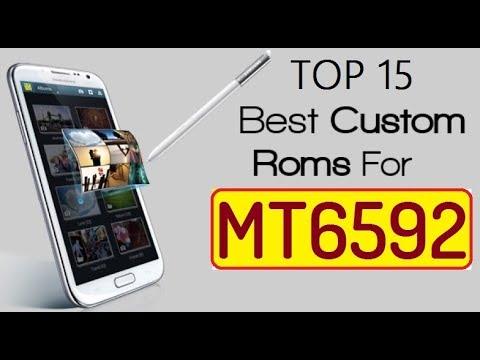 Top 15 Best Custom ROMs for MT6592 Nougat 7 1 2