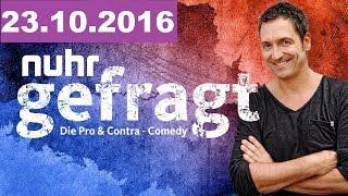 """nuhr gefragt – Die """"Pro & Contra""""-Comedy vom 24.10.2016"""
