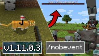 ВЫШЕЛ НОВЫЙ Minecraft Pe 1.11.0.3 -ДОБАВИЛИ РЕЙДЫ И НОВЫХ КОШЕК , ПОЛНЫЙ ОБЗОР
