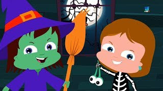 Trucco o trattare rime spaventosi bambini poesie Halloween for Kids Nursery Rhymes Trick or Treat