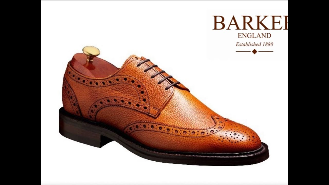 eb091188 Barker Shoes Country Collection Made in England - YouTube