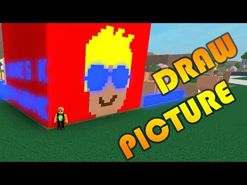 Lumber Tycoon 2 - DRAW YOUR OWN PICTURE