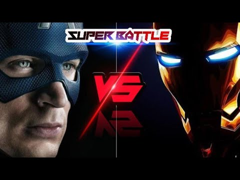 Captain America vs Ironman | superbattle