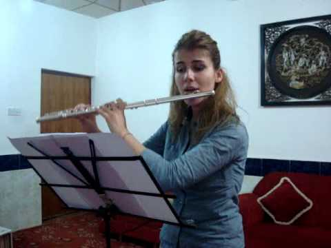 Chro Hameed -- NYOI 2014 audition video (Flute).