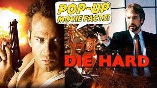 DIE HARD - Pop-Up Movie Facts (1988) Bruce Willis, Alan Rickman, John McTiernan action movie
