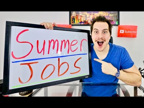 10 Summer Job Ideas for Teenagers and Students!