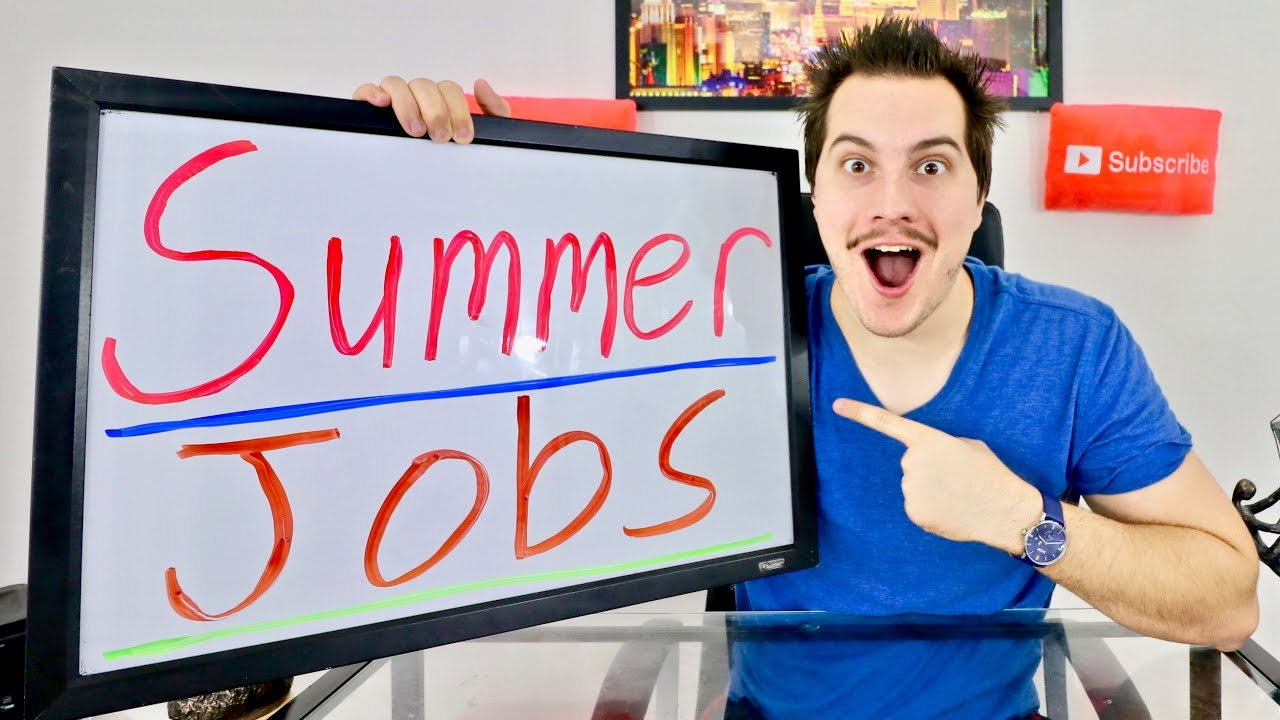 10 summer job ideas for teenagers and students