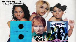 Ed Sheeran ft. Stormzy vs. TLC - Shape of You vs No Scrubs (GBM Remix)