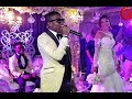 Small Doctor Sings As Oritsefemis Wife Throws Her Bouquet To The Waiting Single Ladies