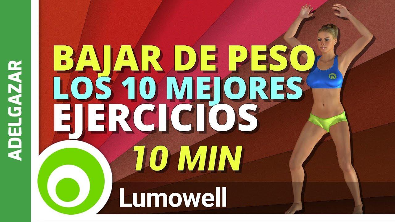 ejercicios para bajar de peso quemar grasa