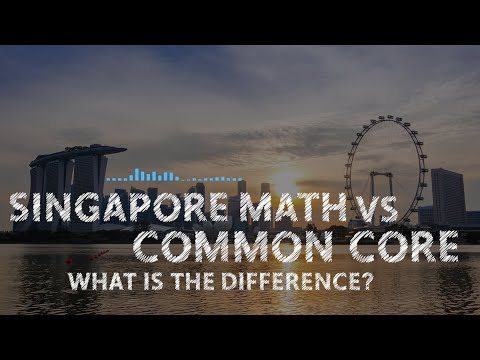 Singapore Math Vs  Common Core: What's The Difference?