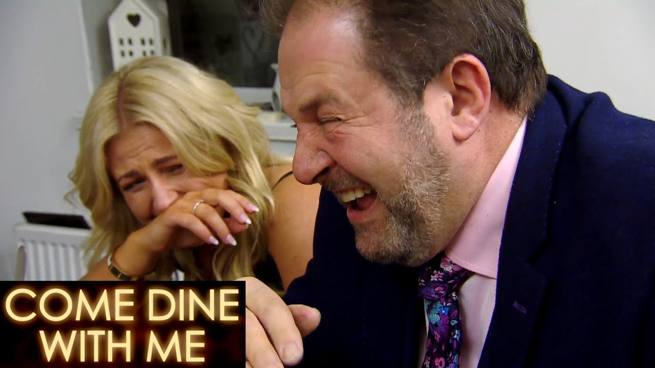 Giovanni's ;Knock Knock Jokes Leaves Everyone Crying With Laughter | Come Dine With Me