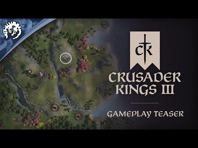 Crusader Kings III - Gameplay Teaser