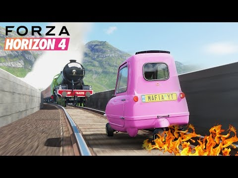 FORZA HORIZON 4 FAILS, STUNTS & FUNNY MOMENTS #1 thumbnail