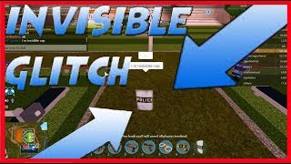 HOW TO BE INVISIBLE IN JAILBREAK ROBLOX - GLITCH -