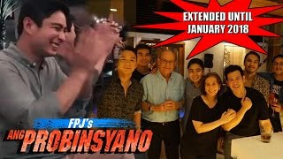 WATCH!!! ANG PROBINSYANO CAST NAG PARTY! EXTENDED 'TIL JANUARY 2018!