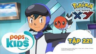 Pokémon Tập 221 - Trận Chiến Trên Không! Ruchaburu Đấu Với Phaiaro!  - Hoạt Hình Pokémon S17 XY