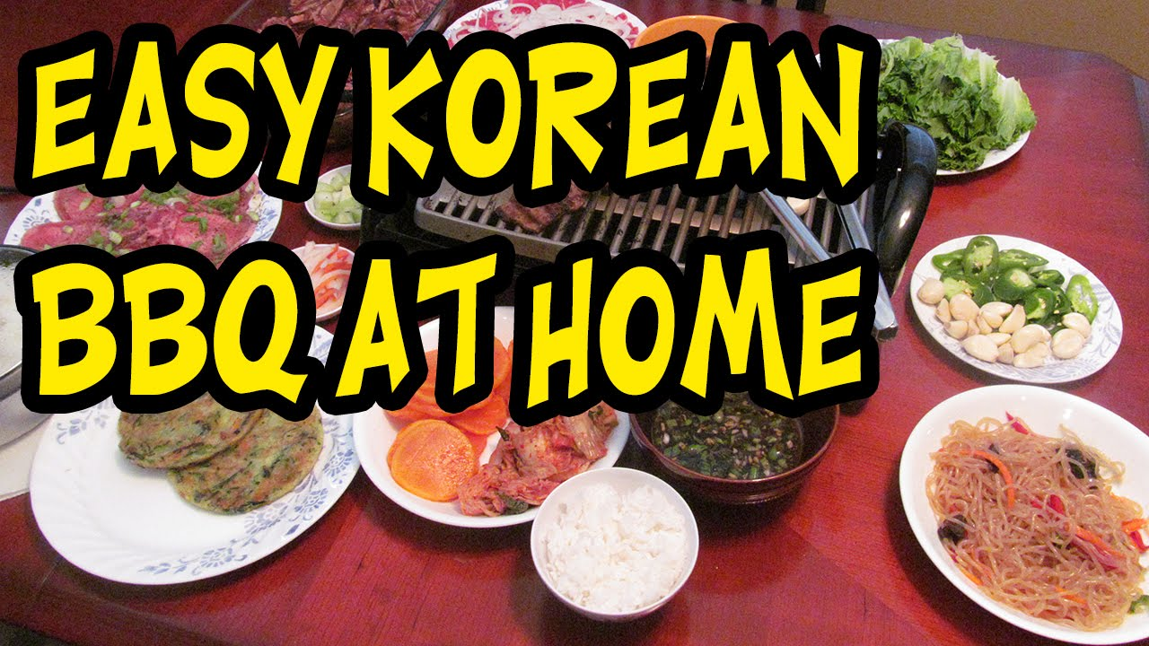 Easy Korean Food To Make At Home