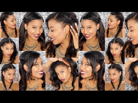 Sew-Ins: How to Style Your Leave Out (U-Part) - YouTube