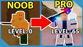 Noob To Pro! Level 65! Defeated Pirate Island Boss! - Roblox Dungeon Quest