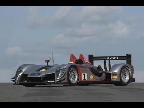 2010 Audi R15 TDI Diesel Race Sports Car